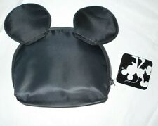 """New listing Nwt Cosmetic Bag Mickey Mouse Ears Makeup Case Gift Disney Pouch 6"""" long"""