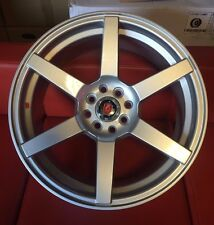 "17"" AXE EX24 SILVER ALLOY WHEELS TO FIT FORD FIESTA FOCUS FUSION 4X108"