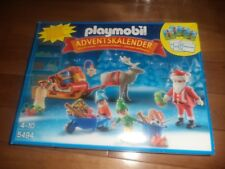 Playmobil Advent Calendar Adventskalender #5494 Santa's Workshop Theme 2013 NEW