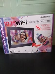 "Sylvania 10.1"" WIFI Digital Photo Frame Brand New Unopened"