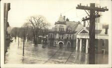 Montpelier VT Flood Scene Post Office & Court House Real Photograph