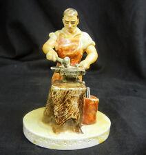 "Sebastian Miniature 'Colonial Blacksmith, 1970, 3 1/4"" tall"