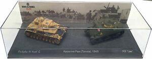 Battle of Kasserine Pass (Tunisia)1943 Pz.Kpfw. IV Ausf G, M3 'Lee' 1:72 (CB11)