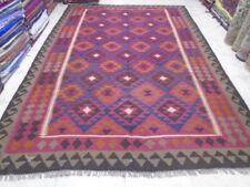 3324 # Amazing Afghan Maimana Big  Kilim Hand Made 9.8 x 6.8  ft
