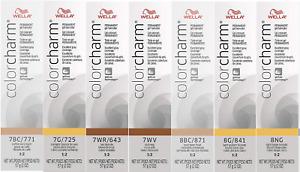 Wella Color Charm Gel Permanent Blonde Hair Color 2 oz -- Choose Your Color