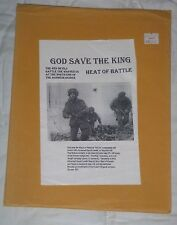 God Save the King - Heat of Battle - ASL {UNUSED-COMPLETE} >OOP< >>VERY RARE<<