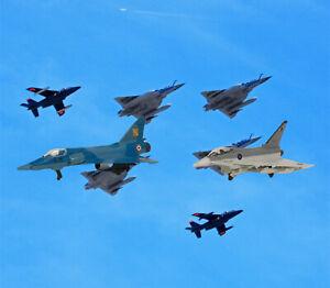 Maisto Mirage 2000C & EF-2000 Eurofighter Diecast Military Aircraft Fighter Jets