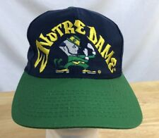 University Of Notre Dame Fighting Irish Vintage Snapback Hat Officially Licensed