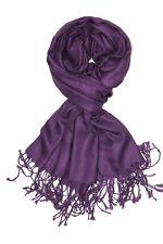 Soft Silky Solid Pashmina Scarf Shawl Wrap Evening Wedding Bridesmaid Cashmere
