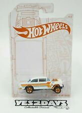Hot Wheels Pearl and Chrome 55 Chevy Bel Air Gasser White Long Card