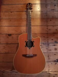 Vintage 1998 TAKAMINE EN-10C Acoustic Electric Guitar Radiohead Tom Yorke