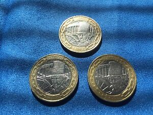 2006 3x £2 COIN ISAMBARD KINGDOM BRUNEL HEAD - RARE MINTING ERROR TWO POUNDS