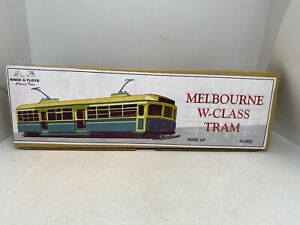 Welby Wind Up Tin Tram - Knox & Floyd Classic Toys #L002 Melbourne W Class