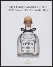 Patron Tequila print ad 2019 - Bow around the neck