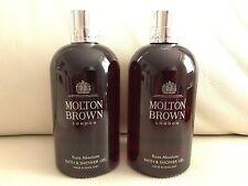 Molton Brown 2 x 300ml Rosa Absolute Bath & Shower Gel NEW