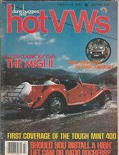 Dune Buggies and Hot VW's,July 1979-The MIGI 11 Cover
