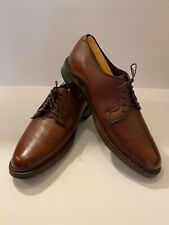 Hanover Shoe Mens Vintage 2102 Size 9.5B Brown Cordovan Leather
