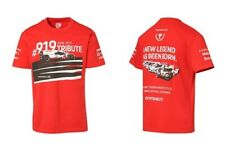 Genuine Porsche 919 Tribute Le Mans Drivers Selection Unisex T Shirt Size XL