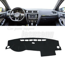 For 11-17 VW Jetta Vento MK6 Sun Shade Dashmat Pad Dashboard Cover Carpet LHD