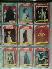 Star Wars 1980 Complete TESB 352 Bubblegum Set & 72 Part Sticker Set Topps 1983