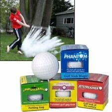 48 Golfing Prank Trick Gag Novelty Joke Magic Golf Balls ~ (4 dozen)