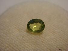Peridot Oval Cut Gemstone 5 mm x 4 mm 0.25 Carat Natural Green Gem