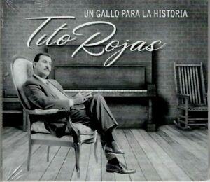 TITO ROJAS - UN GALLO PARA LA HISTORIA - CD ORIGINAL DIGIPACK