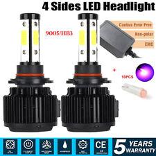 CNABUS 9005 HB3 LED Headlight Bulbs 240W 46000LM High Beam Light Conversion Kit