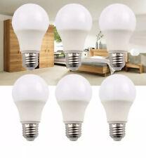 LED Bulbs Pack Of 6 A19 E27 7w Brightest 60w Soft White 3000k Light Bulb