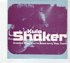 (HD812) Kula Shaker, Grateful When You're Dead / Jerry Was There - 1996 CD