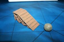 Dwarven Forge Master Maze Wooden Ramp with Stone Boulder Trap - Original
