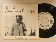 Norman Nardini & Tigers 45 w/ps IF YOU DON'T WANT ME / same song~CBS M-