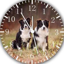 Border Collie Wall Clock F42
