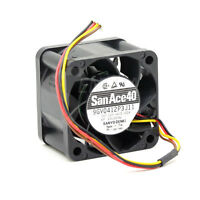 Sanyo 9GV0412P3J11 4cm 4028 40mm 4-pin dual ball PWM powerful Cooling Fan