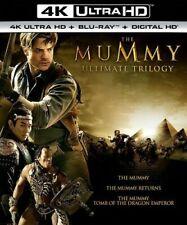 The Mummy Ultimate Trilogy 1 2 3 4k Ultra HD Blu-ray Digital