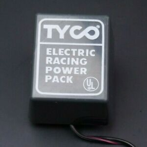 Tyco 20volt VDC ADAPTER CORD Electric Racing Slotcar Set Track Power Supply 610C