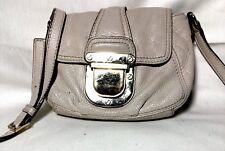 MICHAEL  Michael Kors Charlton Small  Plate Gold Leather Crossbody Bag