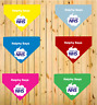 Personalised Dog's Name Thank You NHS Stay Safe Dog Bandana 6 Colours Charity