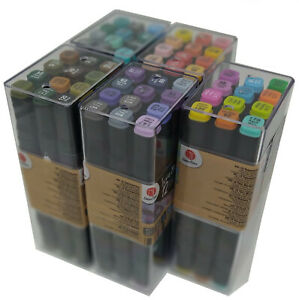 12 Twin Markers Marker Graphic Alcohol Sketch Marker Pen Tintenmarker