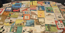 Over 40 Huge Mixed Vintage Children's Books lot 1960-70's Free Shipping