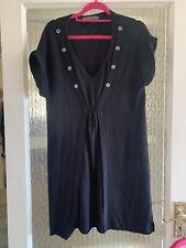 MINT VELVET BLACK DRESS SIZE UK 12