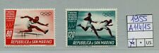 San Marino 1955 Posta Aerea ostra del francobollo olimpico  Mnh