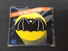 January 2017 Batman Origins Logo Pin Loot Crate DX Exclusive DC Comics 2017