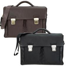 Aktentasche Leder Notebooktasche Dermata Executive Lehrertasche Tasche 2827 Wahl