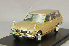 1/43 Hi-Story Nissan Skyline 1800 Van Deluxe 1970 VC10 Gold Metallic HS123GL