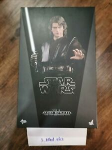 Hot Toys MMS437 Star Wars Anakin Skywalker 12 inch Action Figure Set