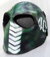 Airsoft Mask Helmet Army of Two Paintball BB Gun Protective Gear Cosplay Camo 40
