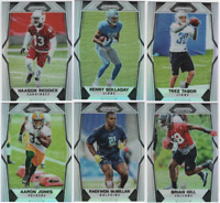 2017 Panini Prizm Football - Rookies SIlver Prizm - Choose From Card #'s 201-300