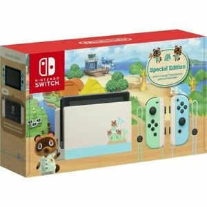 BRAND NEW Nintendo Switch Console Animal Crossing New Horizons Edition IN STOCK