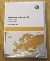 GENUINE VW POLO PASSAT SAT NAV NAVIGATION SD CARD EUROPE V3 2016 3G0919866H NEW